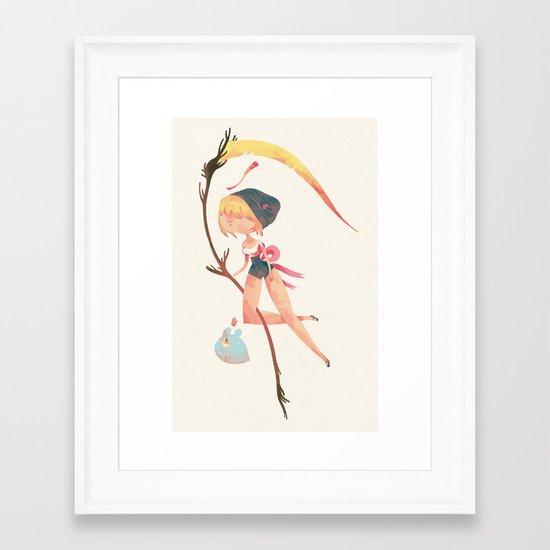 magical death Framed Art Print