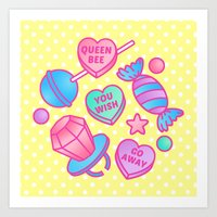 Candy Candy Art Print