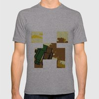 Friends forever (minecraft edition)  Mens Fitted Tee Athletic Grey SMALL