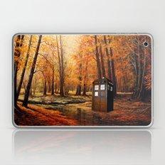 Tardis Forest Art Painting Laptop & iPad Skin
