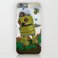 Monster robot toy iPhone 6 Slim Case
