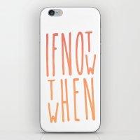 IF & WHEN iPhone & iPod Skin