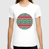 aztec T-shirts featuring Aztec by Shelly Bremmer