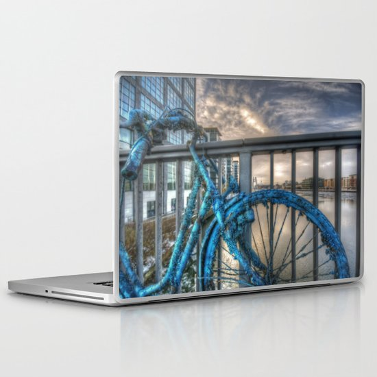 Fishy bike Laptop & iPad Skin