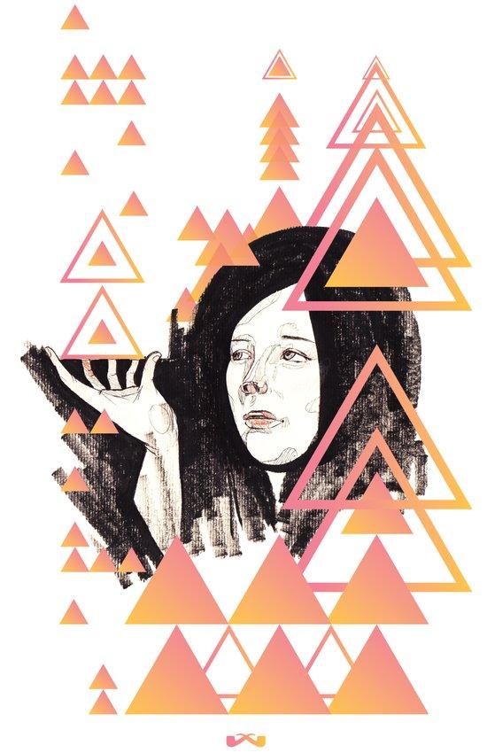 Noir Series 002. Art Print