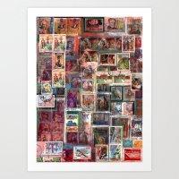 Poste Italiane Art Print