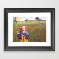 Pennywise's World Framed Art Print