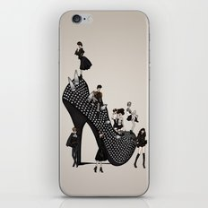 Punk Noir iPhone & iPod Skin