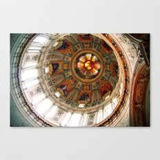 Church in Berlin Canvas Print
