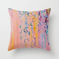 COTTON CANDY WHISPERS - … Throw Pillow