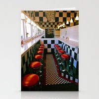 Diner Classic Stationery Cards