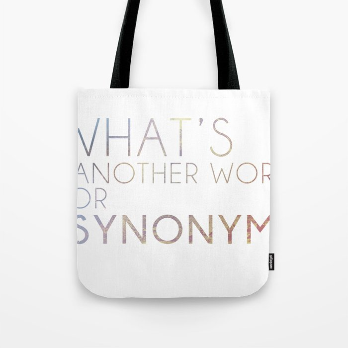 what s another name for synonym tote bag by avanston