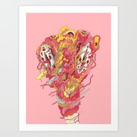 Melt! Art Print