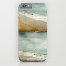 Sea and Waves mosaic iPhone 6 Slim Case