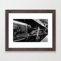 Sir Keith Park Mono Framed Art Print