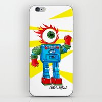 EYE-ROBOT iPhone & iPod Skin