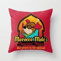 Squirrel Tajine Throw Pillow