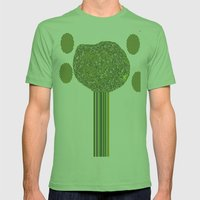 JARDIN Mens Fitted Tee Grass SMALL