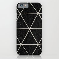 flower iPhone & iPod Cases featuring Geodesic by Terry Fan