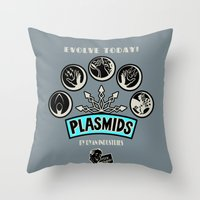 Plasmids Throw Pillow