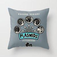 Plasmids Throw Pillow