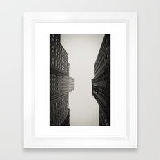 Race to the Sky Framed Art Print
