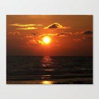 Madeira Beach Sunset 1 Canvas Print
