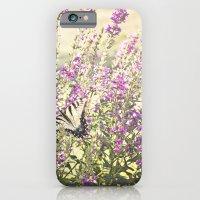Fields Of Butterflies iPhone 6 Slim Case