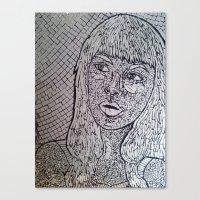 Reflect - Broken Mirror Mosaic Canvas Print