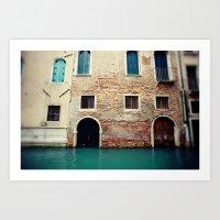 Venice Canals I Art Print