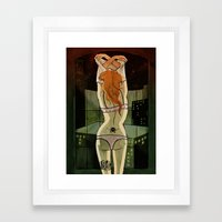 Be My Mary-Jane Framed Art Print