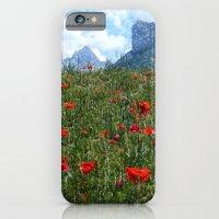 PoppiesMountains iPhone 6 Slim Case