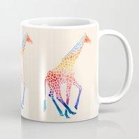 Watercolor Giraffe Mug