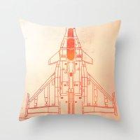 Faster | Speed Electroni… Throw Pillow