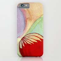 iPhone & iPod Case featuring plume by angela deal meanix