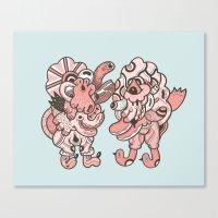 Bacon Song Canvas Print