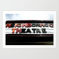 Theatre Art Print