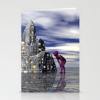 Anybody home? Stationery Cards