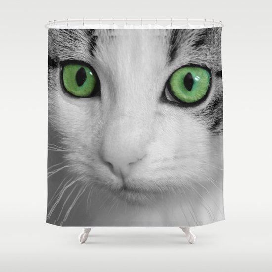 KITTURE Shower Curtain