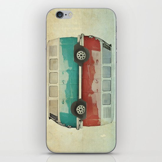 VW Kombi Ying and Yang iPhone & iPod Skin