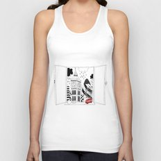 London window Unisex Tank Top