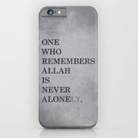 One Who Remembers Allah iPhone 6 Slim Case