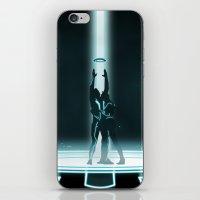 TRON PORTAL iPhone & iPod Skin