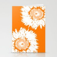 Real Galaxy Flowers Stationery Cards