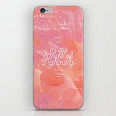 Girl Almighty iPhone & iPod Skin