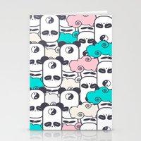 Zen Panda Stationery Cards