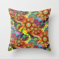 Gipsy Mandala's Throw Pillow