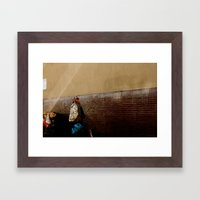 Fight To Survive. Framed Art Print