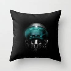 Space Invasion Throw Pillow