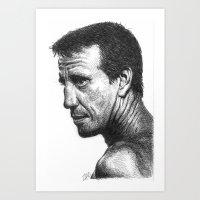 Roy Scheider Art Print